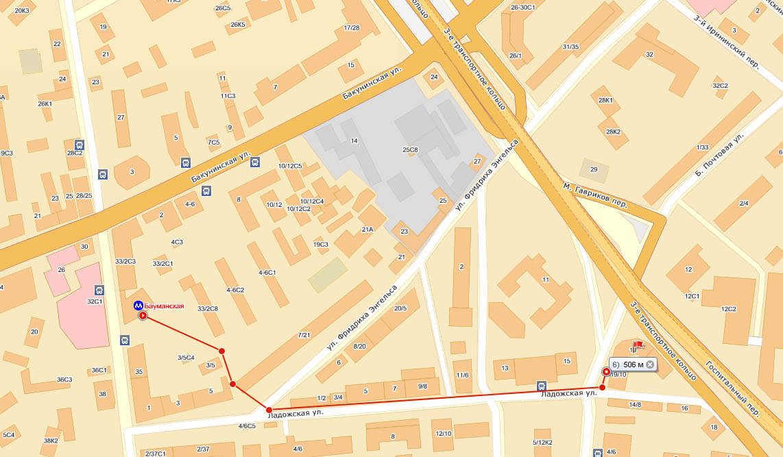адрес, схема проезда